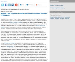 bariatric,surgeon,surgery,weight loss revision,dallas tx