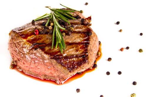 Grilled Rosemary Flank Steak