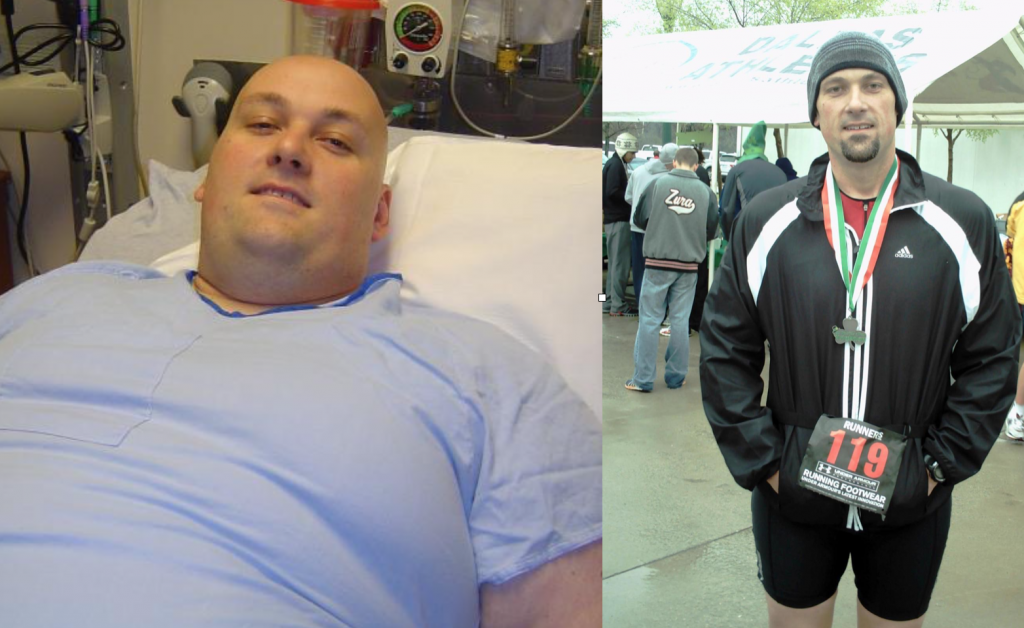 Dan's Weight Loss Results