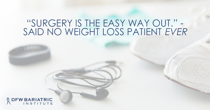 Bariatric Surgery Not The Easy Way Out