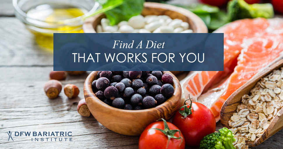 Find A Diet That Works For You