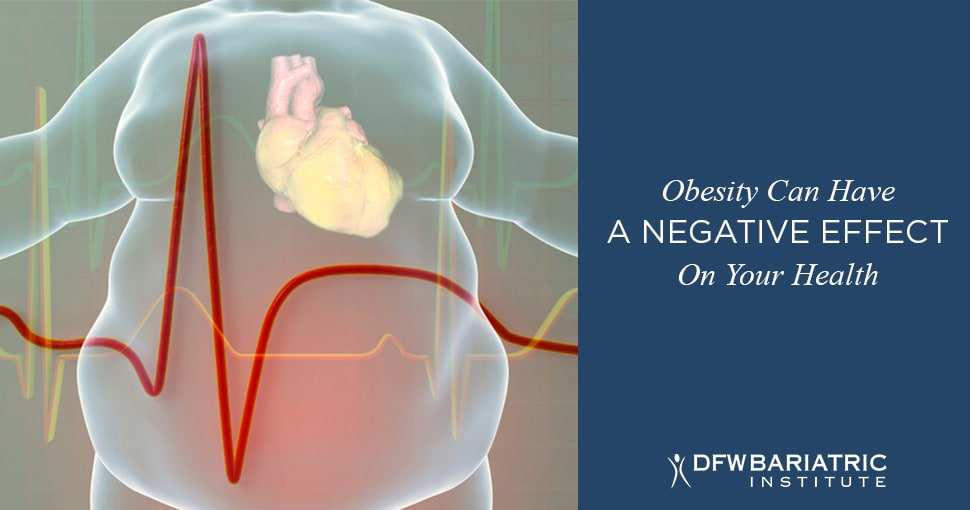obesity negative effect